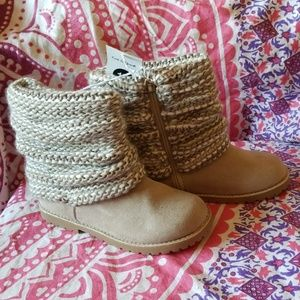 Other - Cat & Jack Tan Lilla Boots Size 12